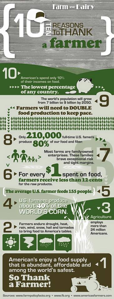 Farmers Provide Food
